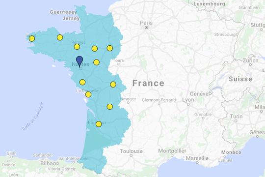 Présence en France
